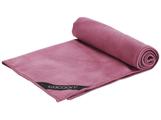 Cocoon Microfiber Towel - Serviette de bain - Ultralight Small rouge